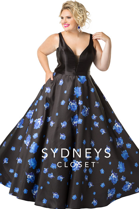 SC7241 (blue) Prom                                             dress by Sydney's Closet Prom+