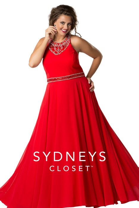 SC7252 (red) Prom                                             dress by Sydney's Closet Prom+