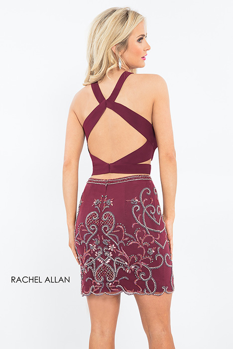4600 (back) gown from the 2018 Rachel Allan collection, as seen on dressfinder.ca