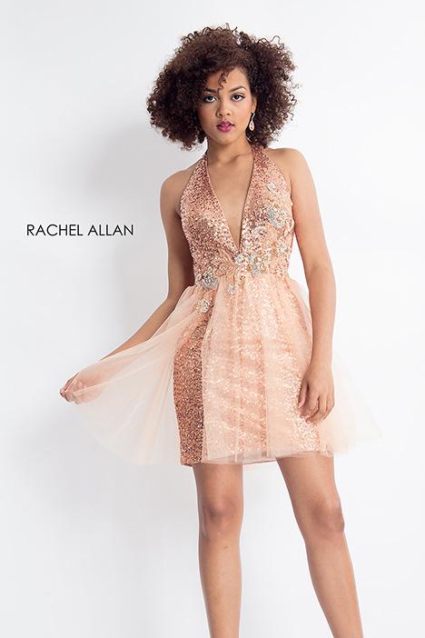 4602 (champagne) Prom                                             dress by Rachel Allan