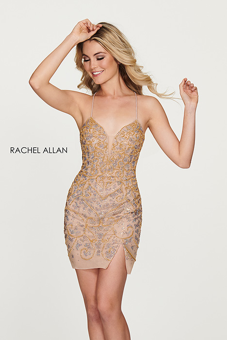 4605 (champagne) gown from the 2018 Rachel Allan collection, as seen on dressfinder.ca