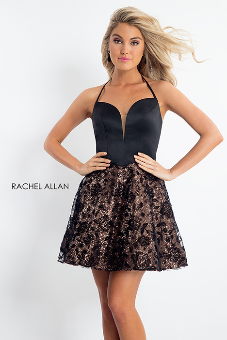 4613 (black) gown from the 2018 Rachel Allan collection, as seen on dressfinder.ca