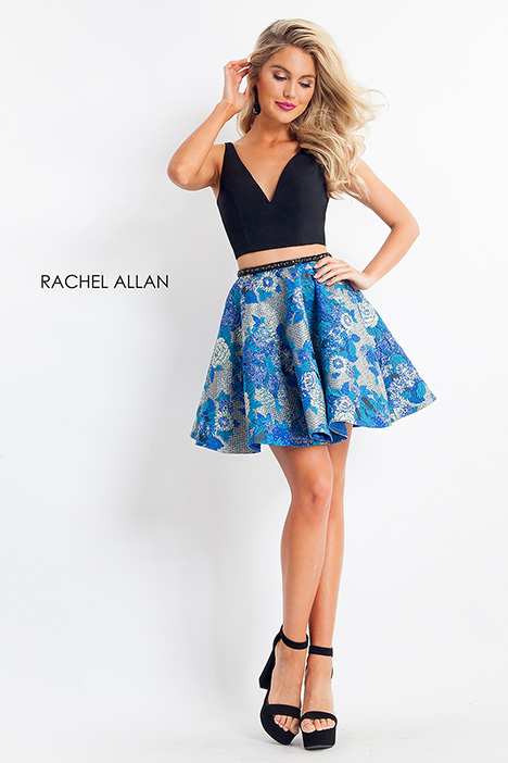 4638 (black + blue) gown from the 2018 Rachel Allan collection, as seen on dressfinder.ca