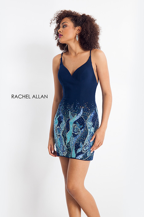 4641 (blue) gown from the 2018 Rachel Allan collection, as seen on dressfinder.ca