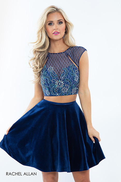 4658 (blue) gown from the 2018 Rachel Allan collection, as seen on dressfinder.ca