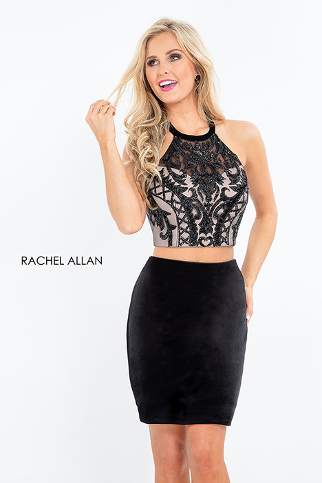 4676 (black) gown from the 2018 Rachel Allan collection, as seen on dressfinder.ca