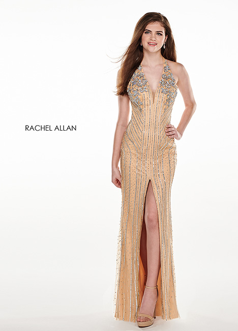6404 (champagne) gown from the 2018 Rachel Allan collection, as seen on dressfinder.ca
