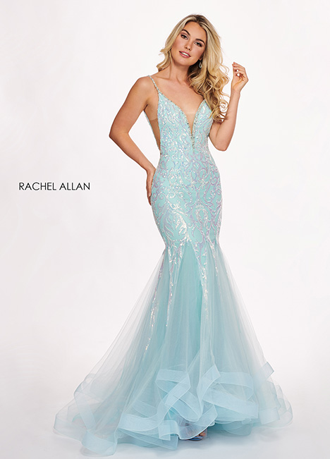 6409 gown from the 2019 Rachel Allan collection, as seen on dressfinder.ca