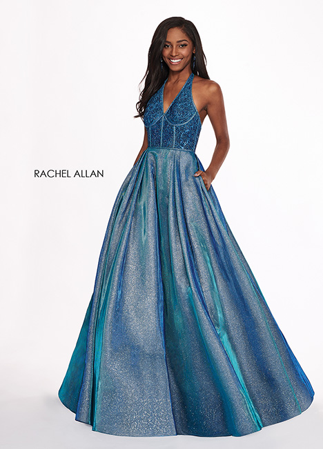 6414 gown from the 2019 Rachel Allan collection, as seen on dressfinder.ca