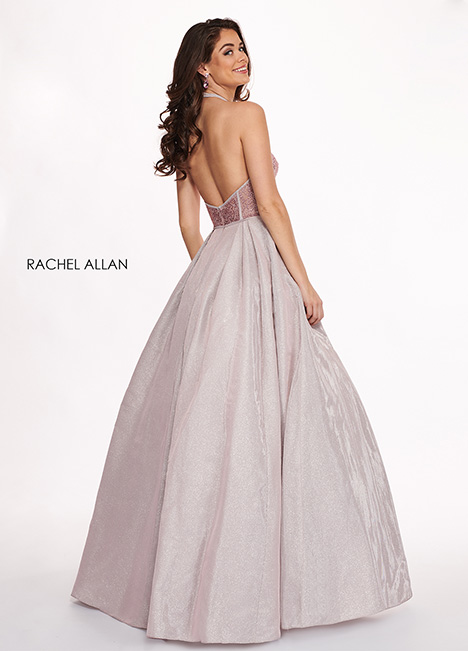 6414 (back) Prom                                             dress by Rachel Allan