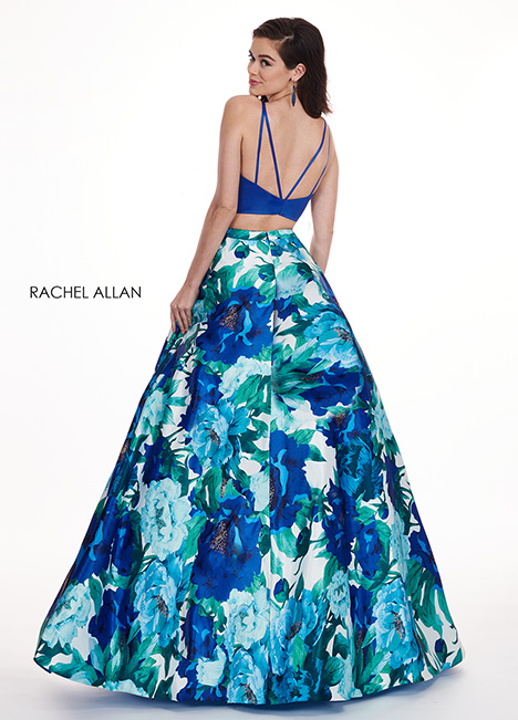 6438 (back) Prom                                             dress by Rachel Allan
