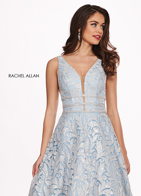 6443 gown from the 2019 Rachel Allan collection, as seen on dressfinder.ca