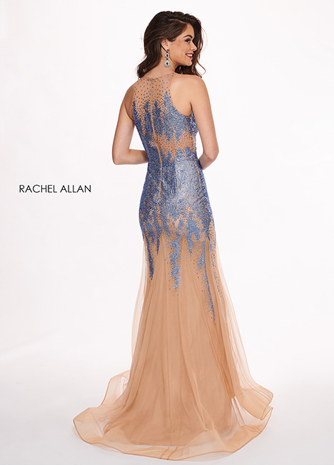 6452 (back) Prom                                             dress by Rachel Allan