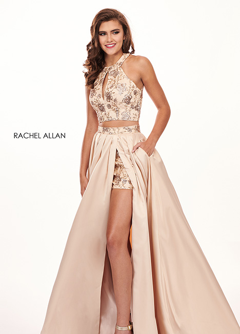 6495 gown from the 2010 Rachel Allan collection, as seen on dressfinder.ca