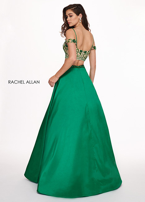 6534 gown from the 2019 Rachel Allan collection, as seen on dressfinder.ca