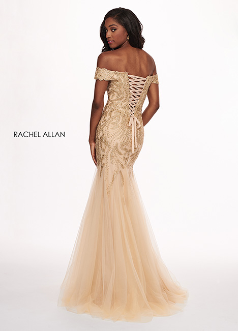 6545 (back) gown from the 2019 Rachel Allan collection, as seen on dressfinder.ca