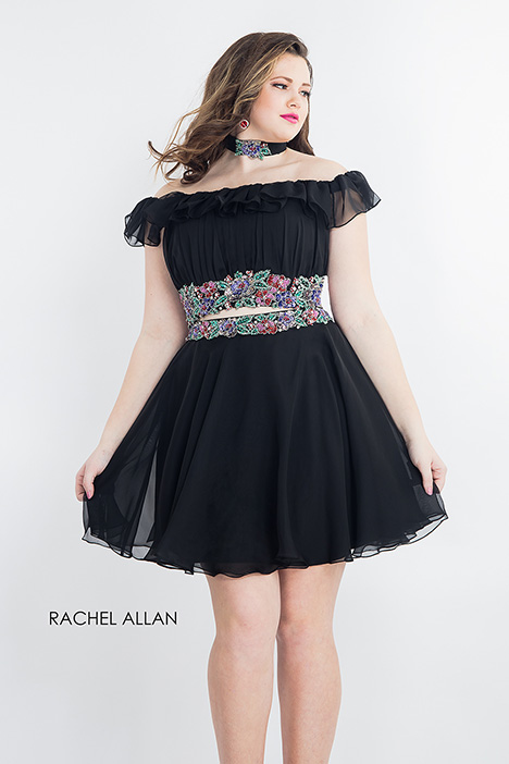 4808 Prom                                             dress by Rachel Allan : Curves