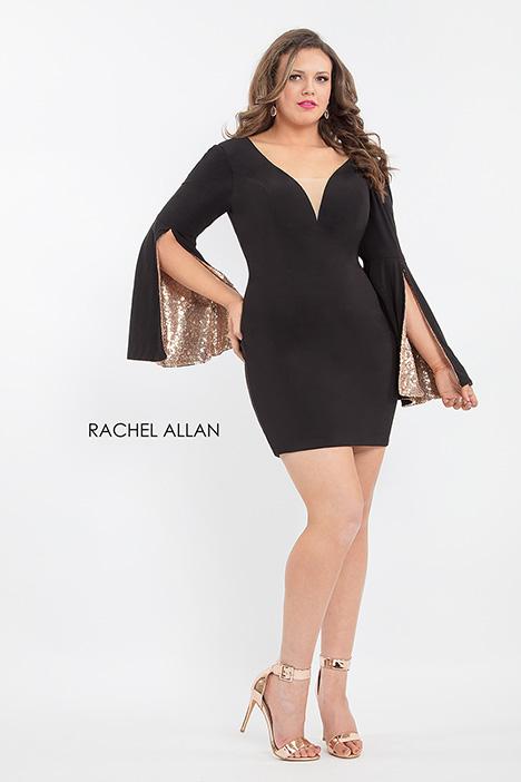 4809 Prom dress by Rachel Allan : Curves