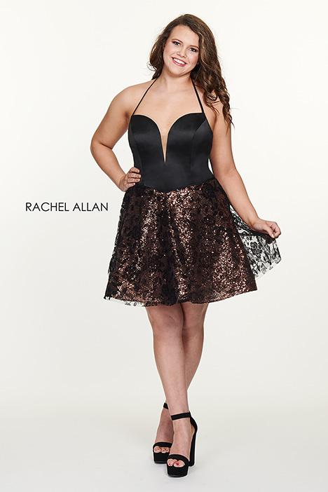 4820 Prom                                             dress by Rachel Allan : Curves