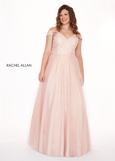 6663 Prom                                             dress by Rachel Allan : Curves