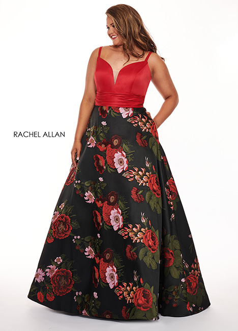 6664 Prom                                             dress by Rachel Allan : Curves