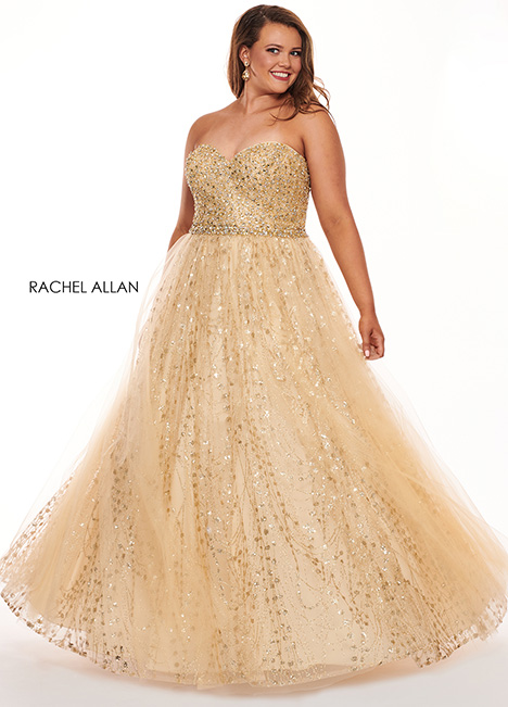 6665 Prom                                             dress by Rachel Allan : Curves
