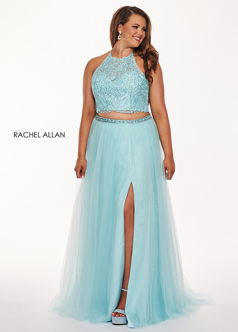 6668 gown from the 2019 Rachel Allan : Curves collection, as seen on dressfinder.ca