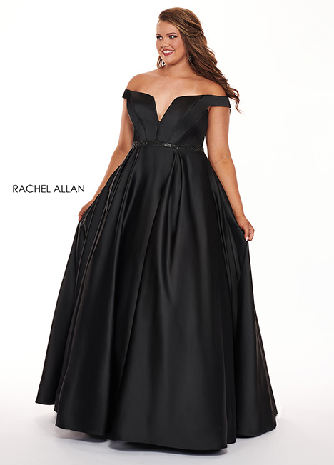 6670 Prom                                             dress by Rachel Allan : Curves