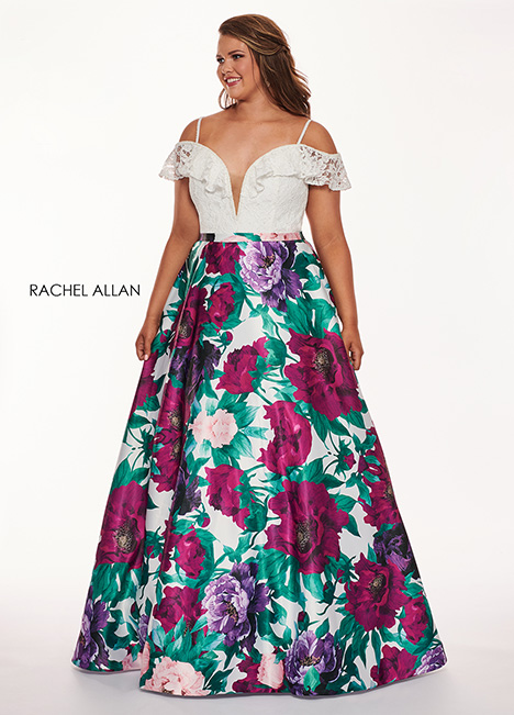 6672 Prom                                             dress by Rachel Allan : Curves