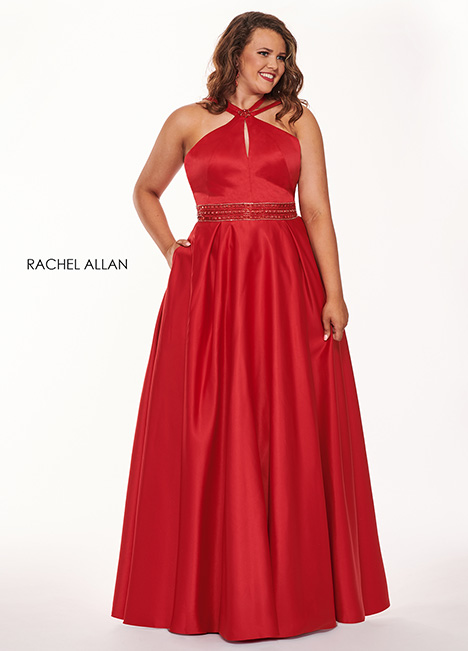 6674 Prom                                             dress by Rachel Allan : Curves