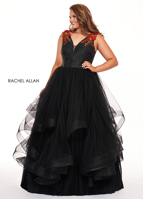 6675 Prom                                             dress by Rachel Allan : Curves