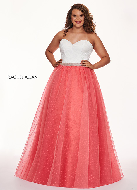 6677 Prom                                             dress by Rachel Allan : Curves