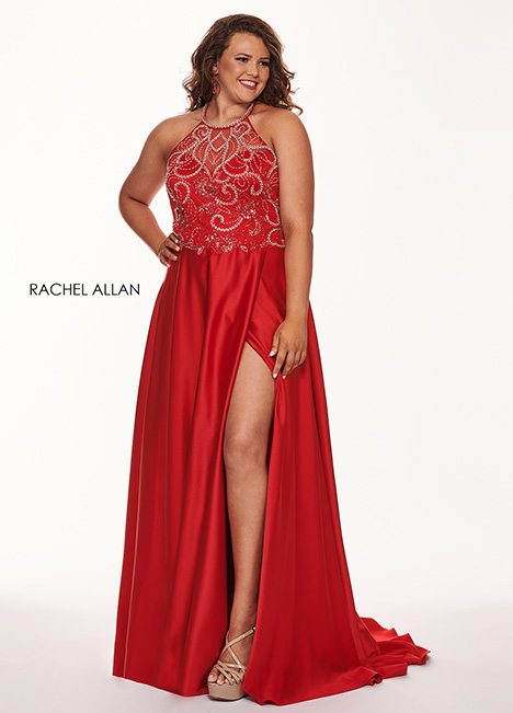 6678 Prom                                             dress by Rachel Allan : Curves