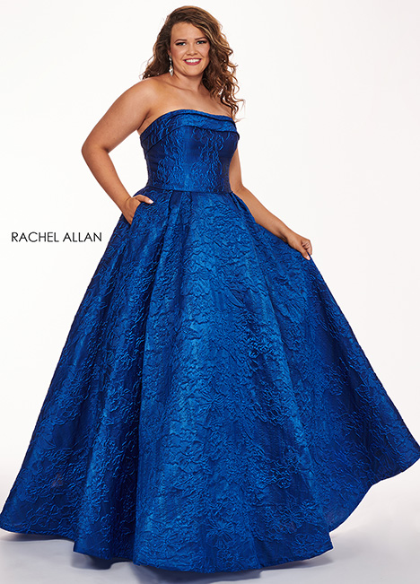 6679 Prom dress by Rachel Allan : Curves