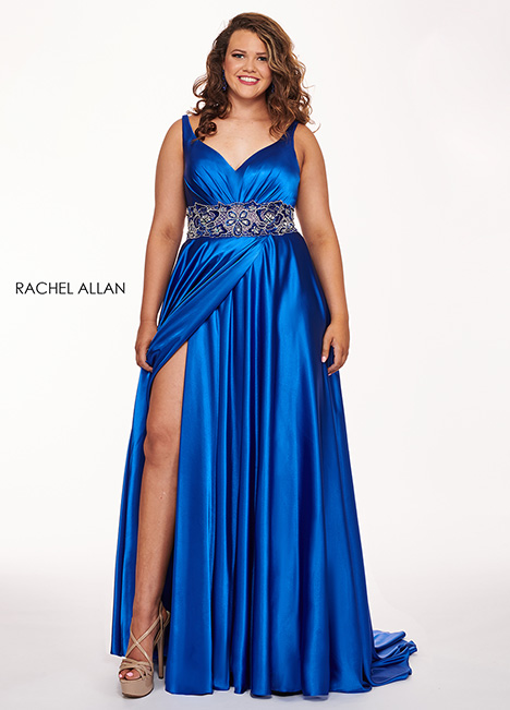 6681 Prom                                             dress by Rachel Allan : Curves