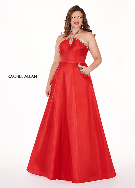 6682 Prom                                             dress by Rachel Allan : Curves