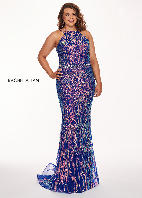 6687 Prom                                             dress by Rachel Allan : Curves