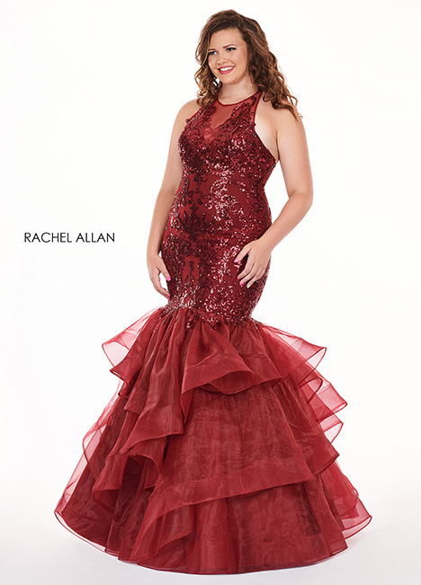 6688 Prom                                             dress by Rachel Allan : Curves