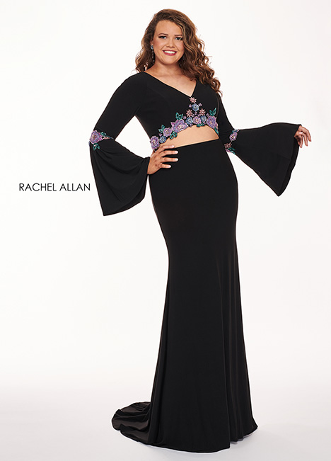 6689 Prom                                             dress by Rachel Allan : Curves