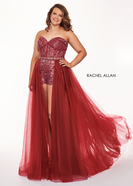 6692 Prom                                             dress by Rachel Allan : Curves