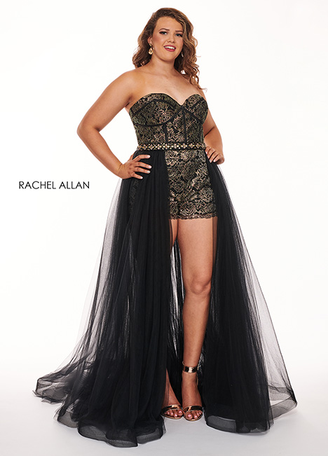 6692 (black) Prom dress by Rachel Allan : Curves