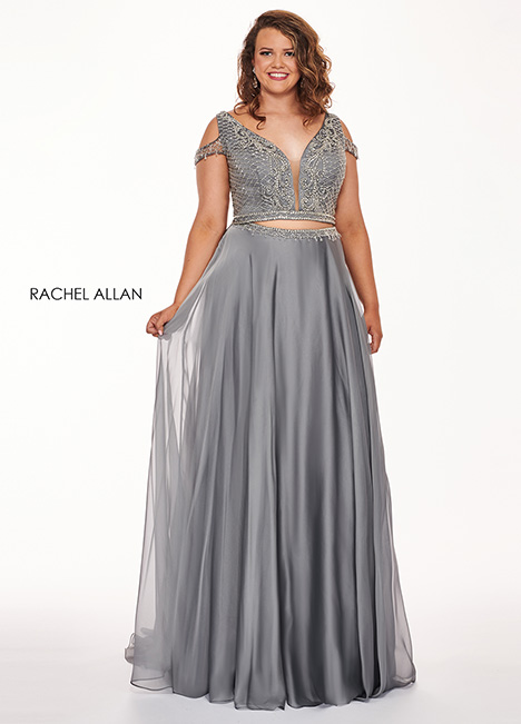 6693 Prom                                             dress by Rachel Allan : Curves
