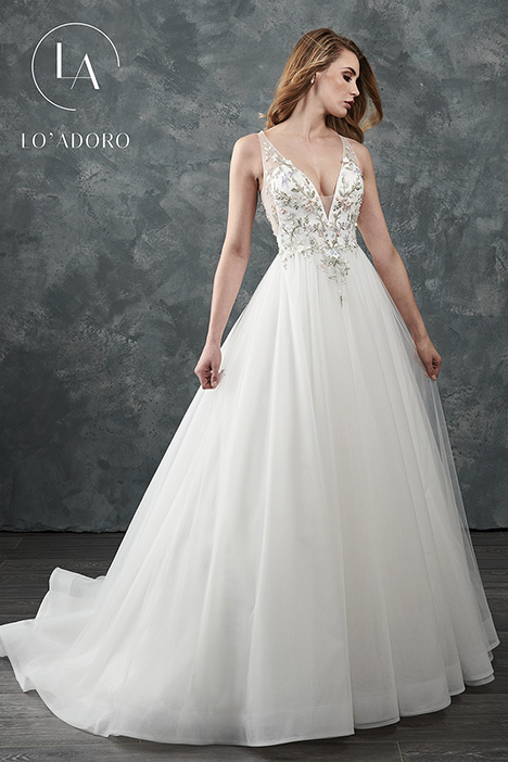 M645 Wedding                                          dress by Lo' Adoro