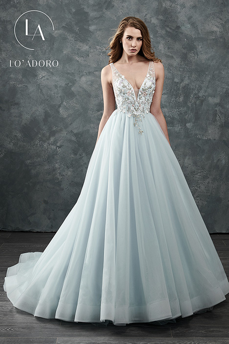 M645 (blue) Wedding                                          dress by Lo' Adoro
