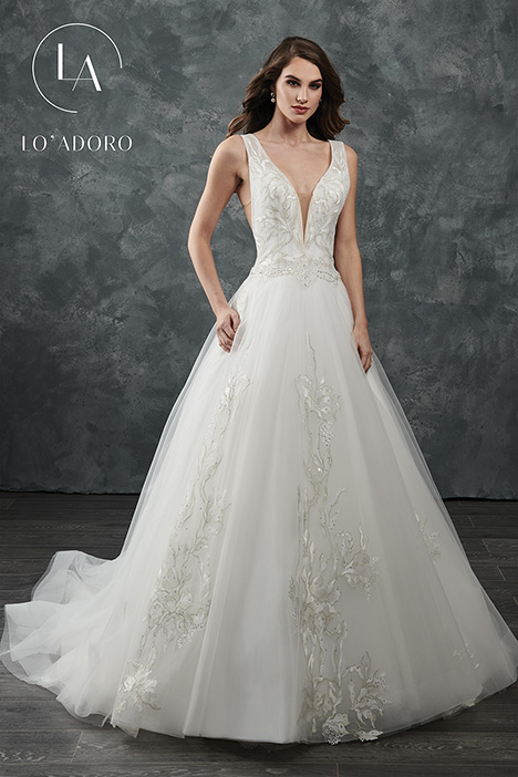 M646 Wedding                                          dress by Lo' Adoro