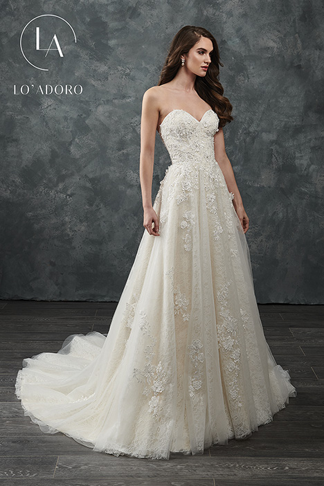 M648 Wedding                                          dress by Lo' Adoro
