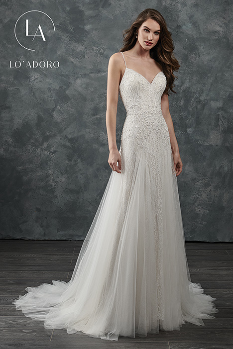 M650 Wedding                                          dress by Lo' Adoro