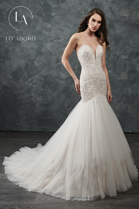 M652 Wedding                                          dress by Lo' Adoro
