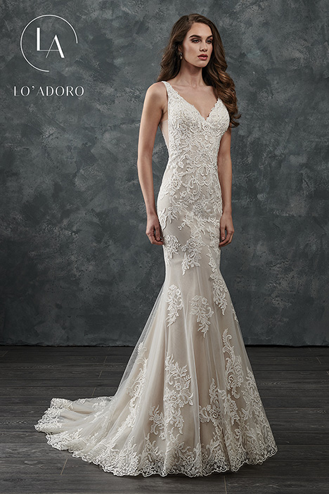 M655 Wedding                                          dress by Lo' Adoro