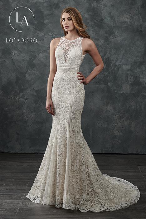 M656 Wedding                                          dress by Lo' Adoro